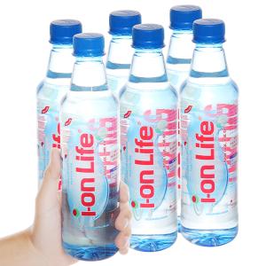 6 chai nước khoáng I-on Life 450ml