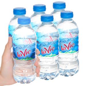 6 chai nước khoáng La Vie 350ml