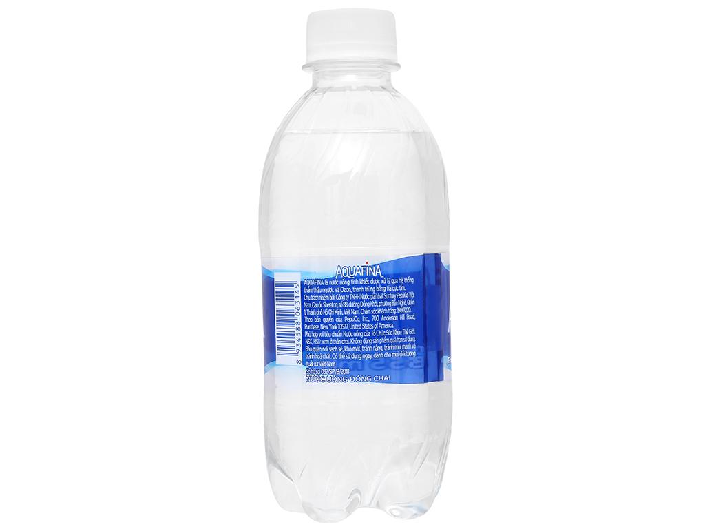 6 chai nước tinh khiết Aquafina 355ml 3