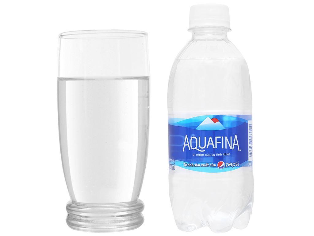6 chai nước tinh khiết Aquafina 355ml 7