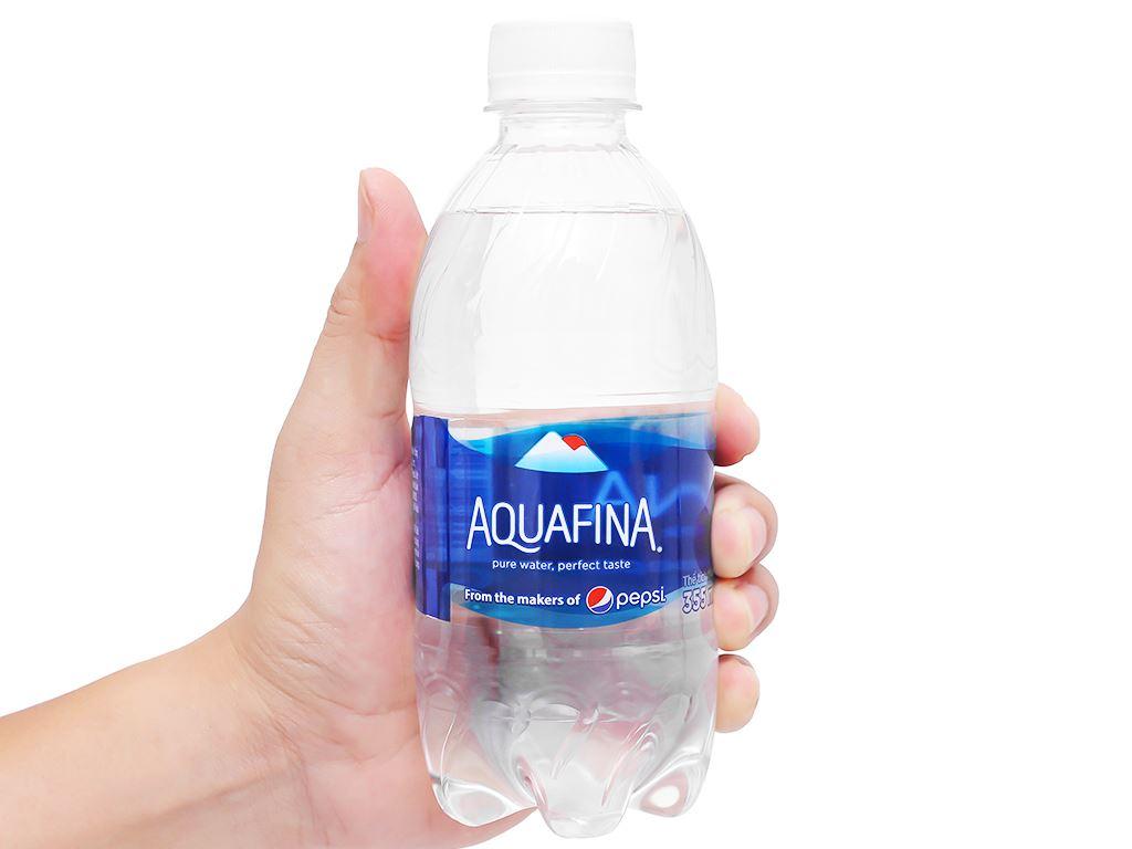 6 chai nước tinh khiết Aquafina 355ml 2
