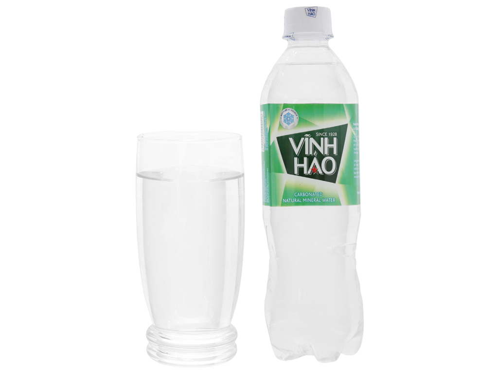 6 chai nước khoáng có ga Vĩnh Hảo 500ml 5