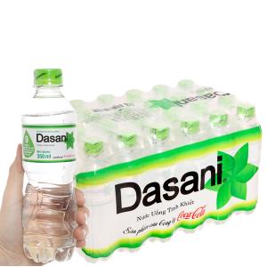 24 chai nước tinh khiết Dasani 350ml
