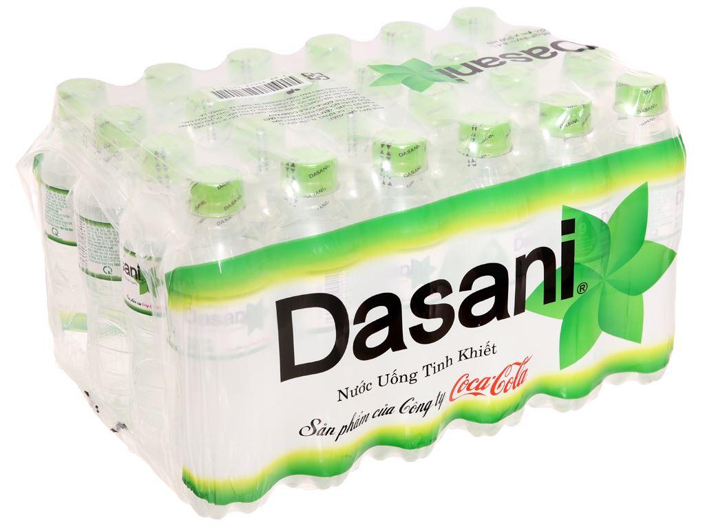 24 chai nước tinh khiết Dasani 350ml 1