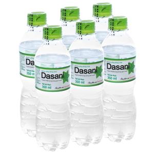 6 chai nước tinh khiết Dasani 350ml
