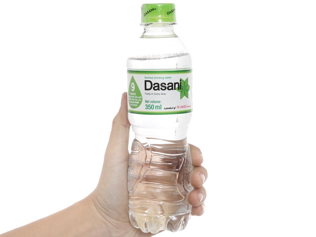 6 chai nước tinh khiết Dasani 350ml 4