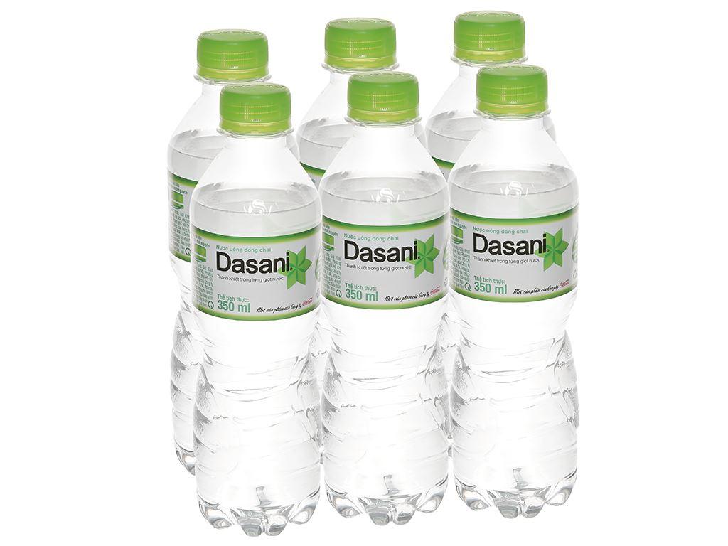 6 chai nước tinh khiết Dasani 350ml 1