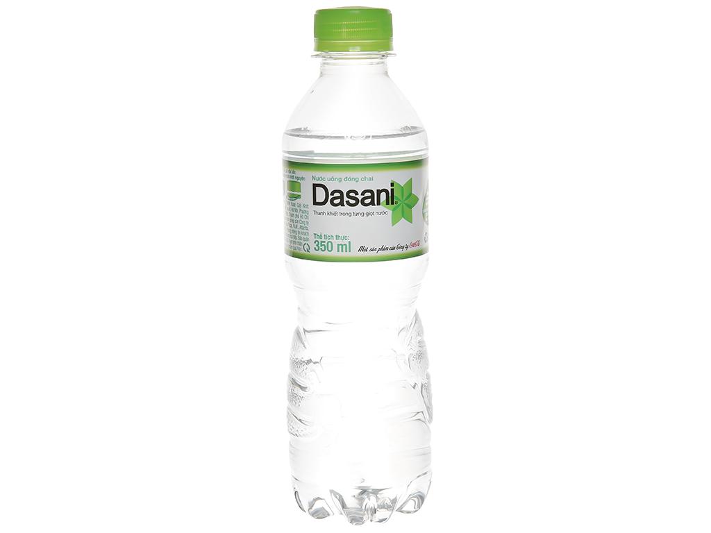 6 chai nước tinh khiết Dasani 350ml 2