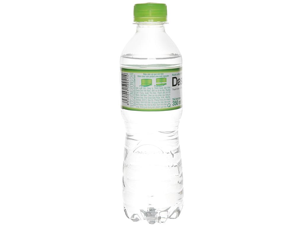 6 chai nước tinh khiết Dasani 350ml 3