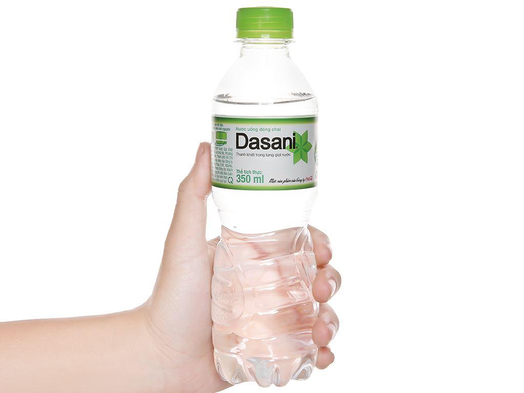 6 chai nước tinh khiết Dasani 350ml 5