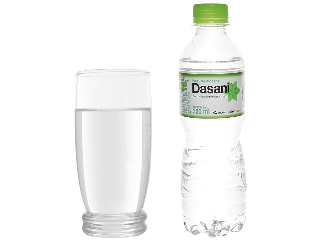 6 chai nước tinh khiết Dasani 350ml 6