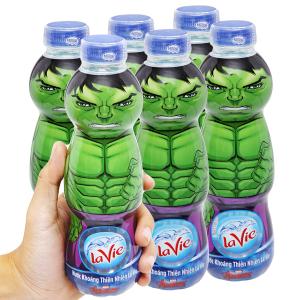 6 chai nước khoáng La Vie Kid 330ml