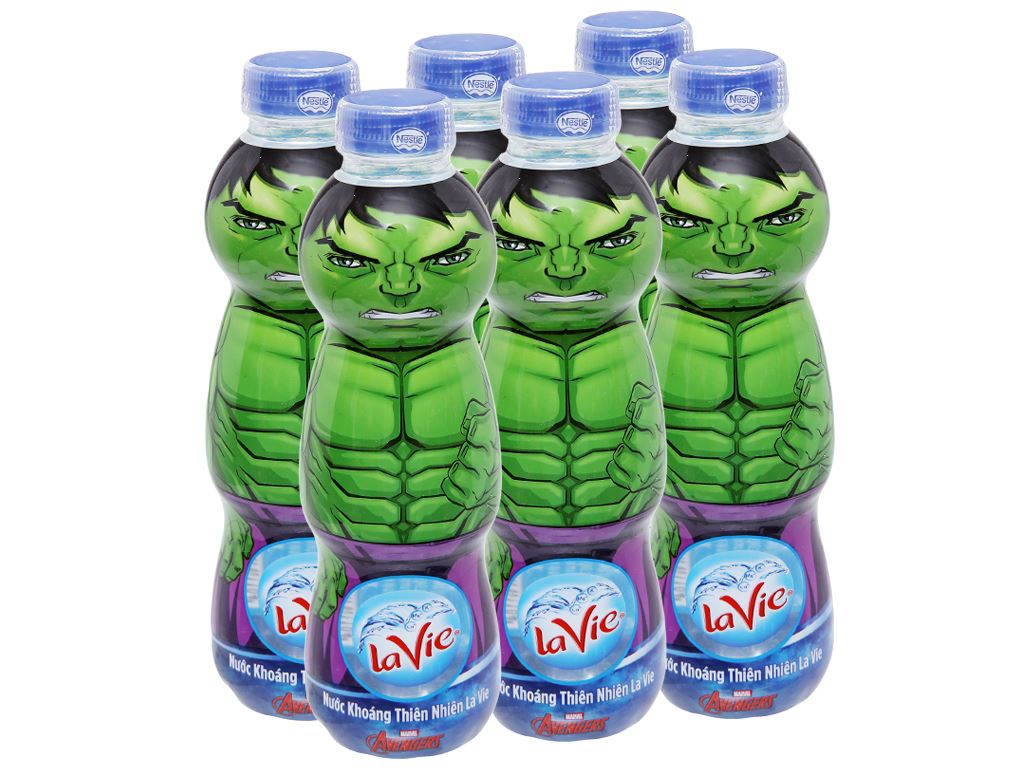 6 chai nước khoáng La Vie Kid 330ml 1