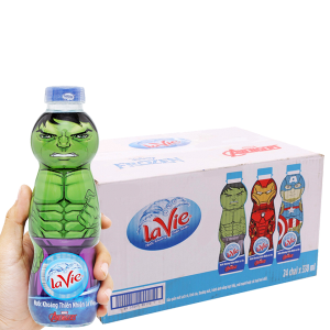 Thùng 24 chai nước khoáng La Vie Kid 330ml