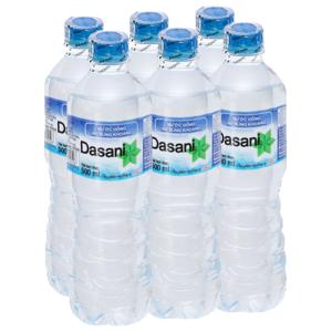 6 chai nước khoáng Dasani 500ml