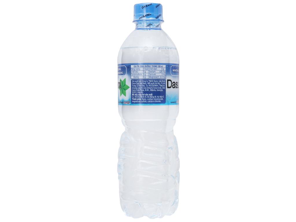 6 chai nước khoáng Dasani 500ml 3