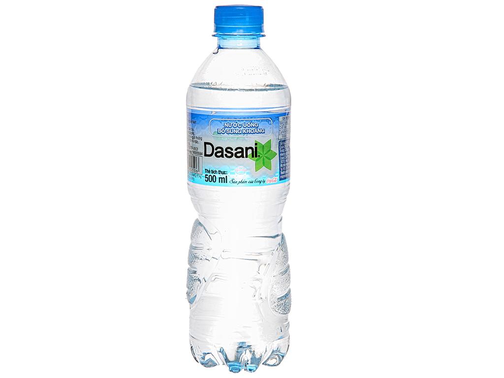 6 chai nước khoáng Dasani 500ml 2