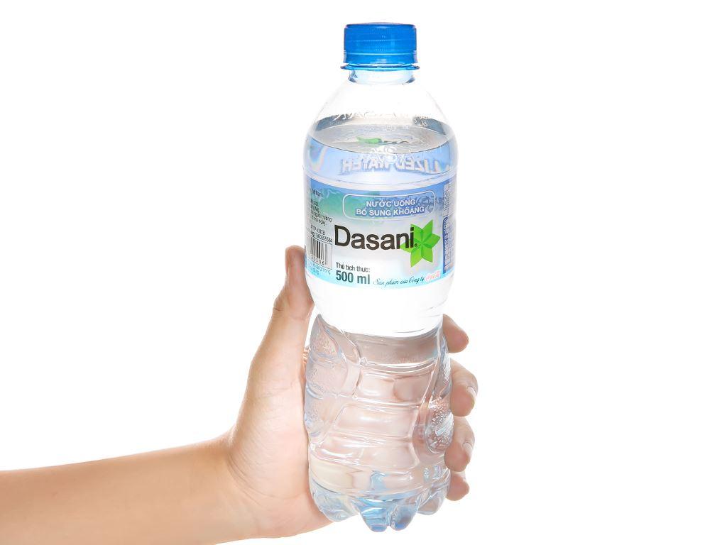 6 chai nước khoáng Dasani 500ml 5