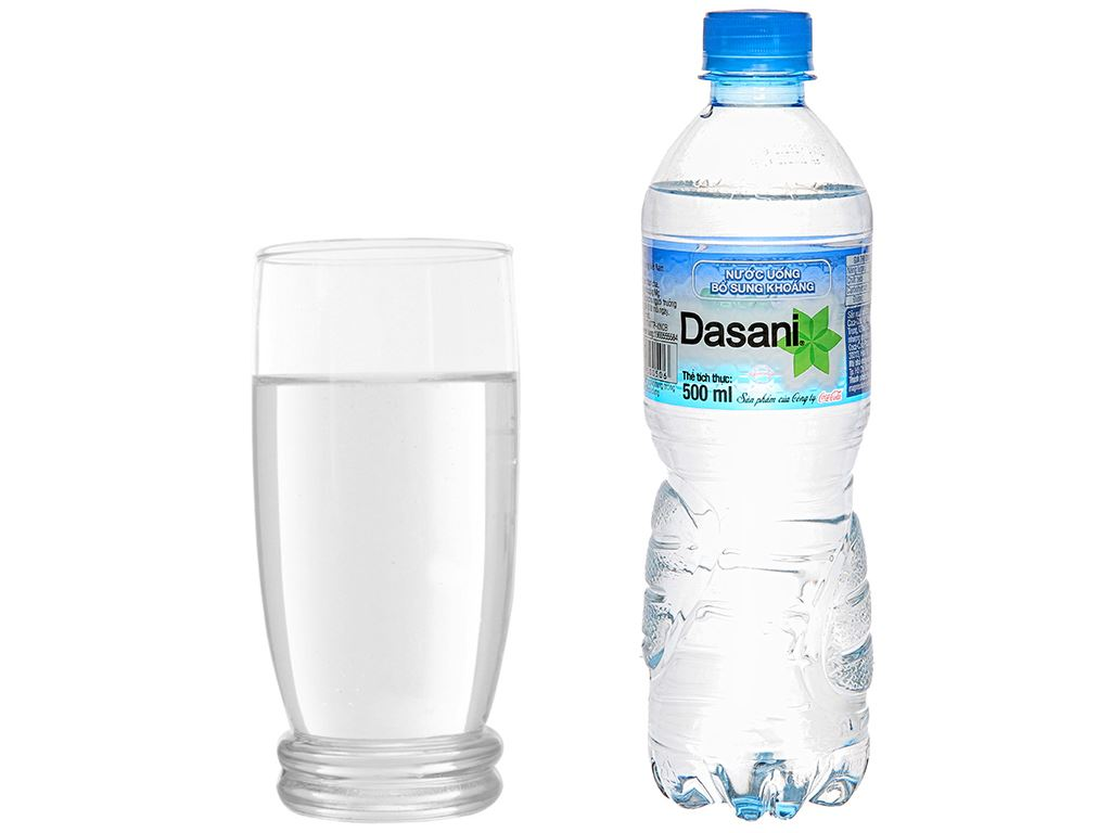 6 chai nước khoáng Dasani 500ml 6