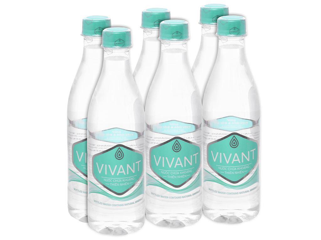6 chai nước khoáng Vivant 500ml 1