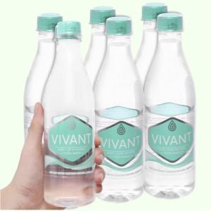 6 chai nước khoáng Vivant 500ml