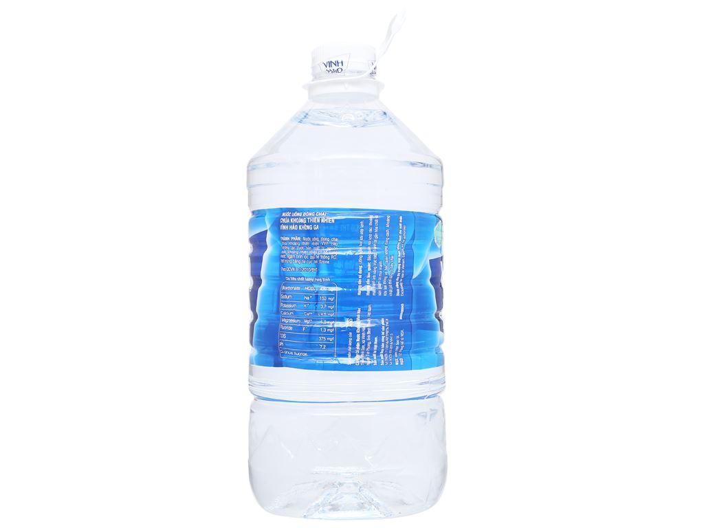 Thùng 4 chai nước khoáng Vĩnh Hảo 5 lít 6