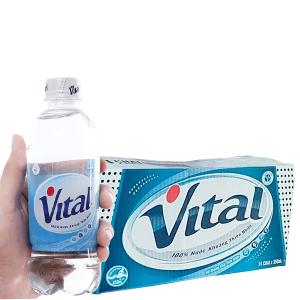 Thùng 24 chai nước khoáng Vital 350ml