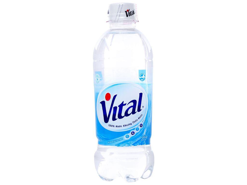Thùng 24 chai nước khoáng Vital 350ml 2