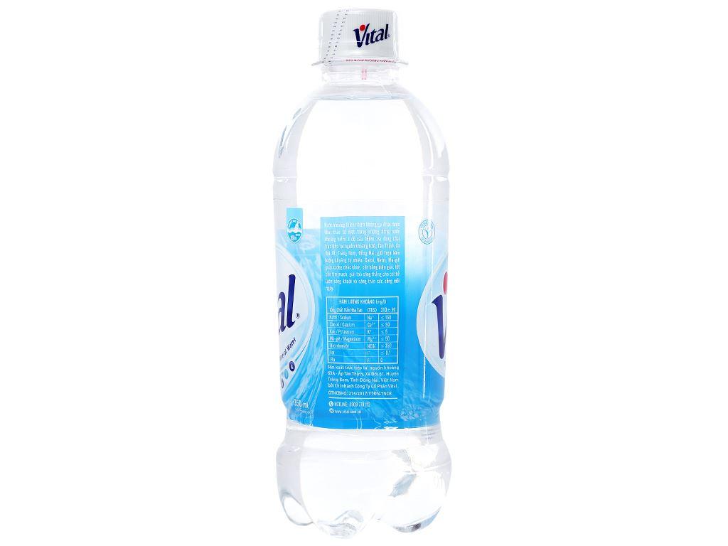 Thùng 24 chai nước khoáng Vital 350ml 3
