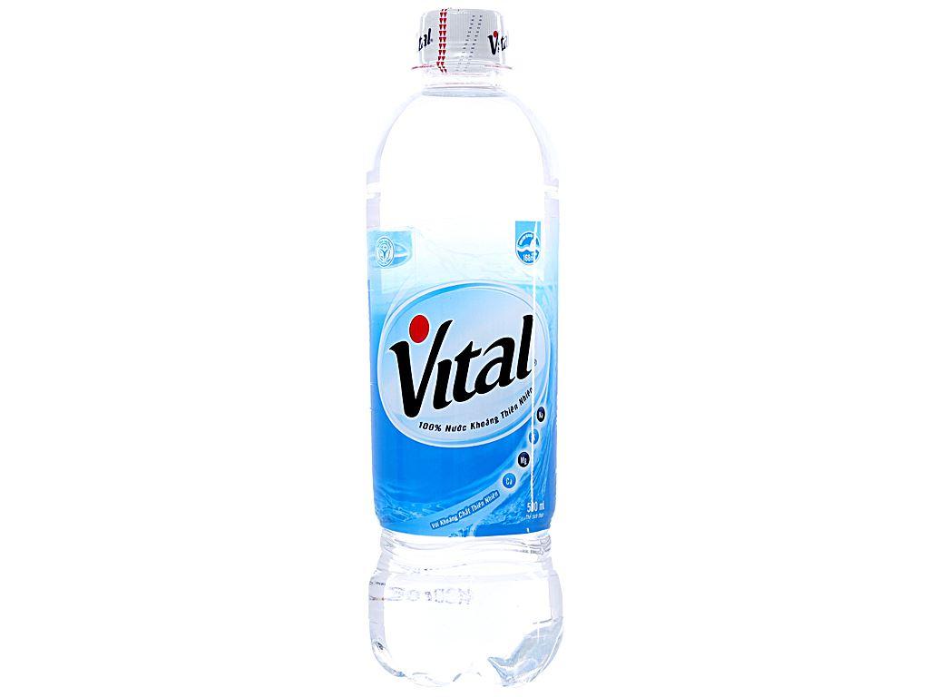 Thùng 24 chai nước khoáng Vital 500ml 2