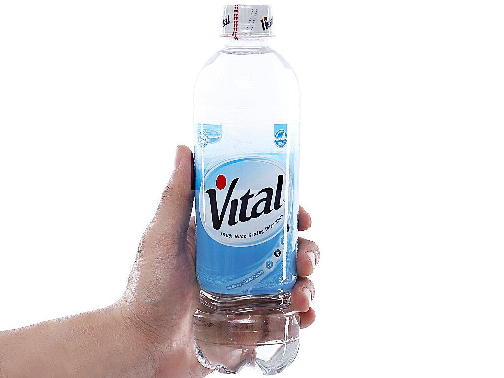 Thùng 24 chai nước khoáng Vital 500ml 4