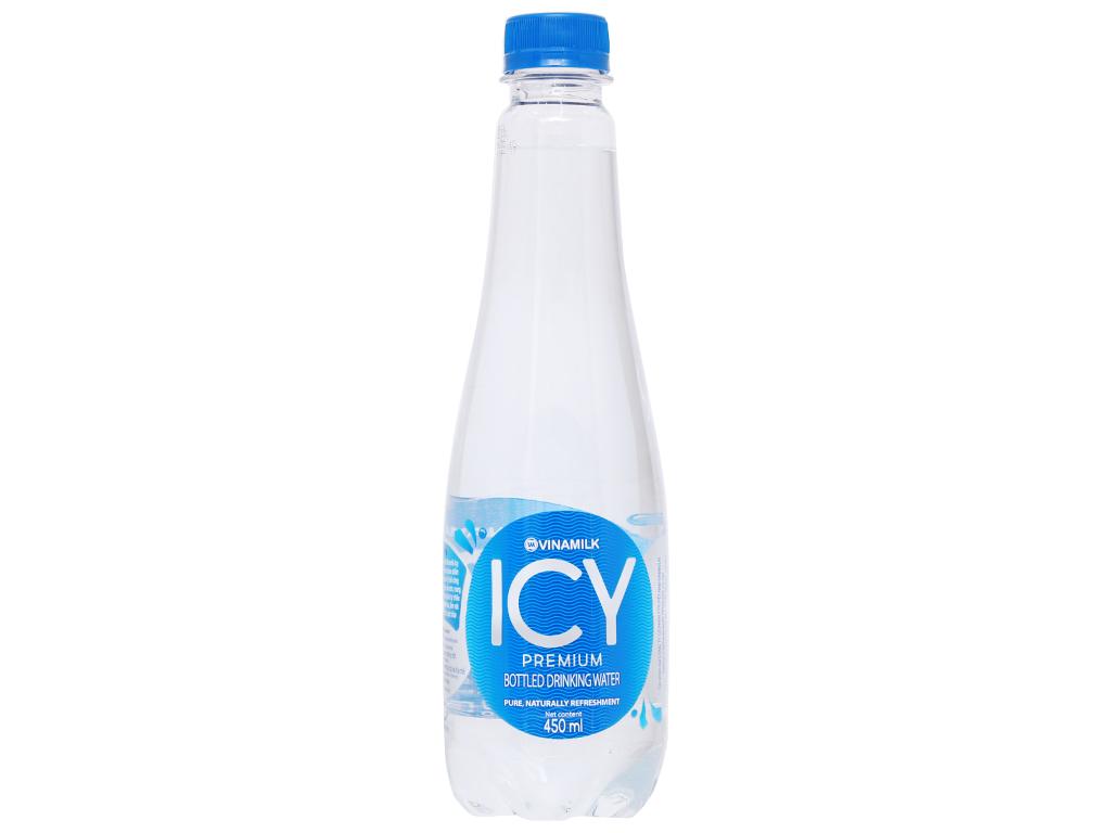 Thùng 24 chai nước tinh khiết ICY Premium 450ml 7
