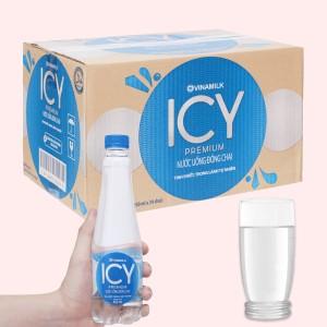 Thùng 24 chai nước tinh khiết ICY Premium 450ml