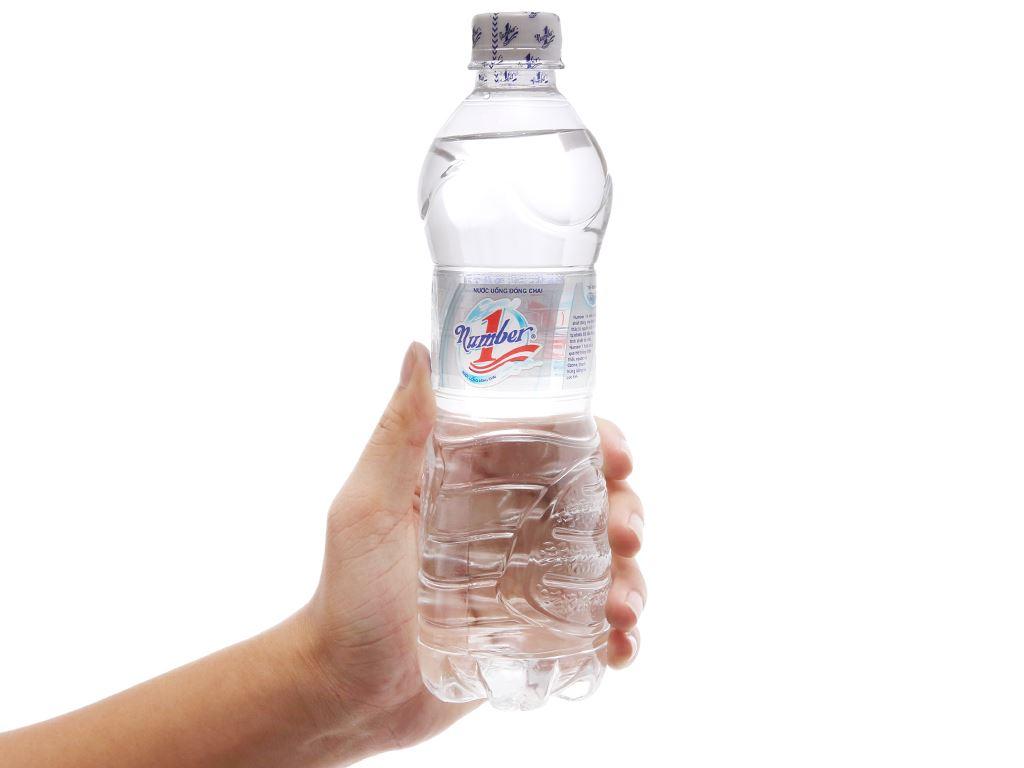 6 chai nước tinh khiết Number1 500ml 4
