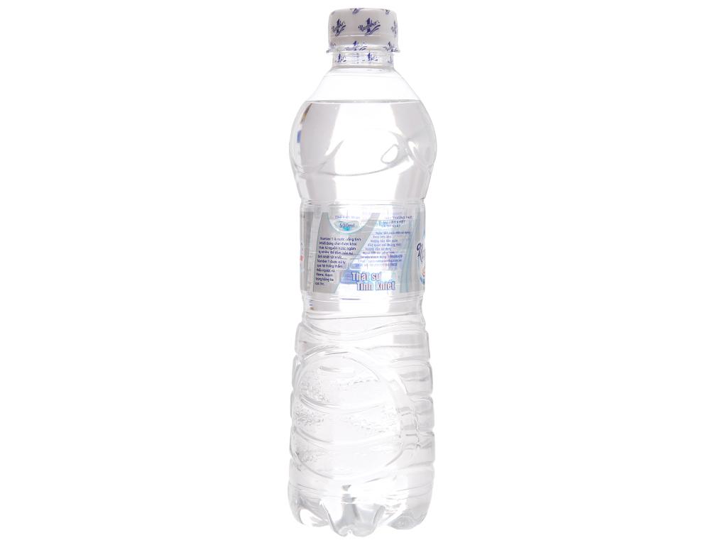 6 chai nước tinh khiết Number1 500ml 3