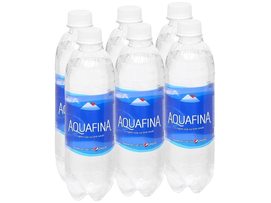 6 chai nước tinh khiết Aquafina 500ml 1