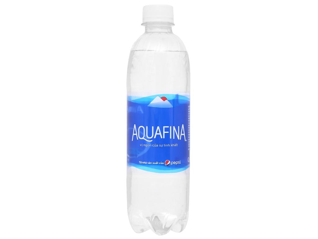 6 chai nước tinh khiết Aquafina 500ml 2