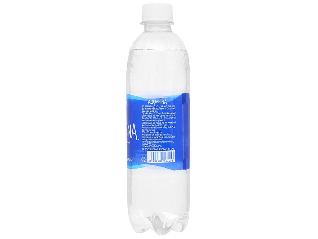 6 chai nước tinh khiết Aquafina 500ml 3