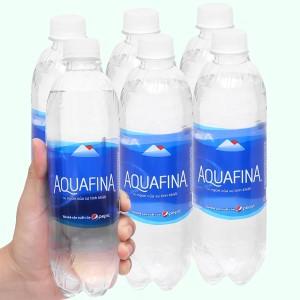 6 chai nước tinh khiết Aquafina 500ml