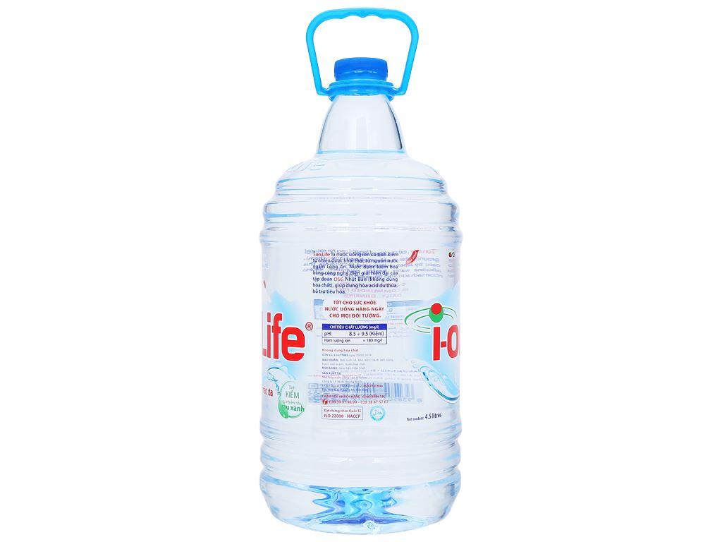 Thùng 4 chai nước uống i-on kiềm Akaline I-on Life 4.5 lít 3