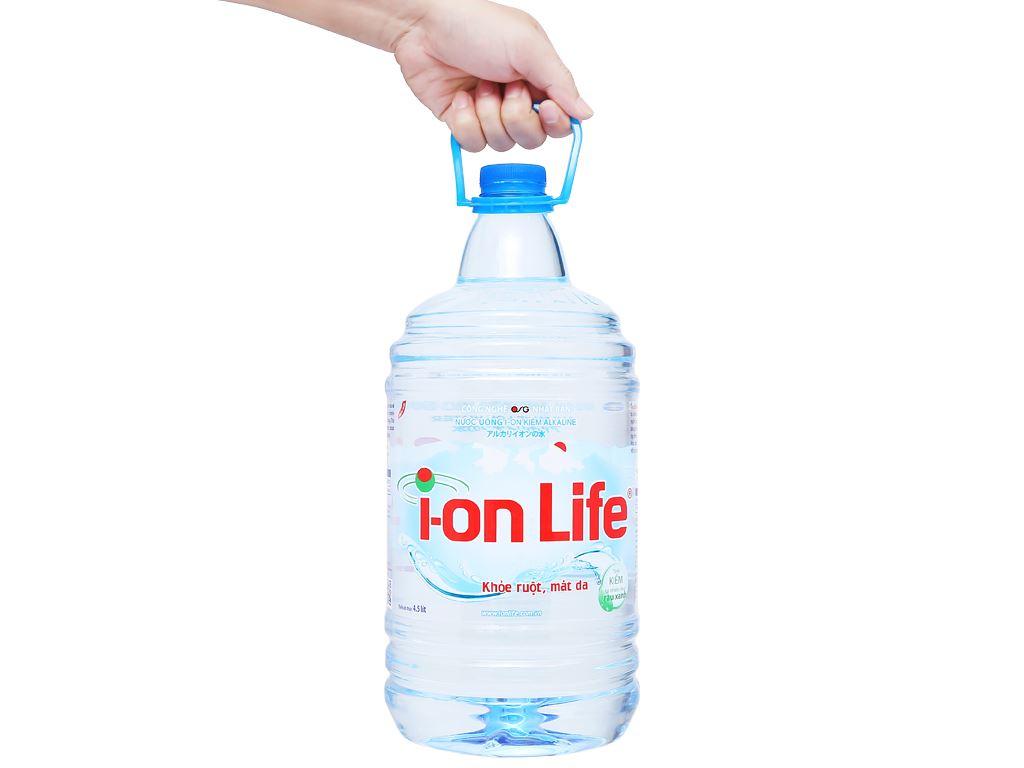 Nước uống i-on kiềm Akaline I-on Life 4.5 lít 6