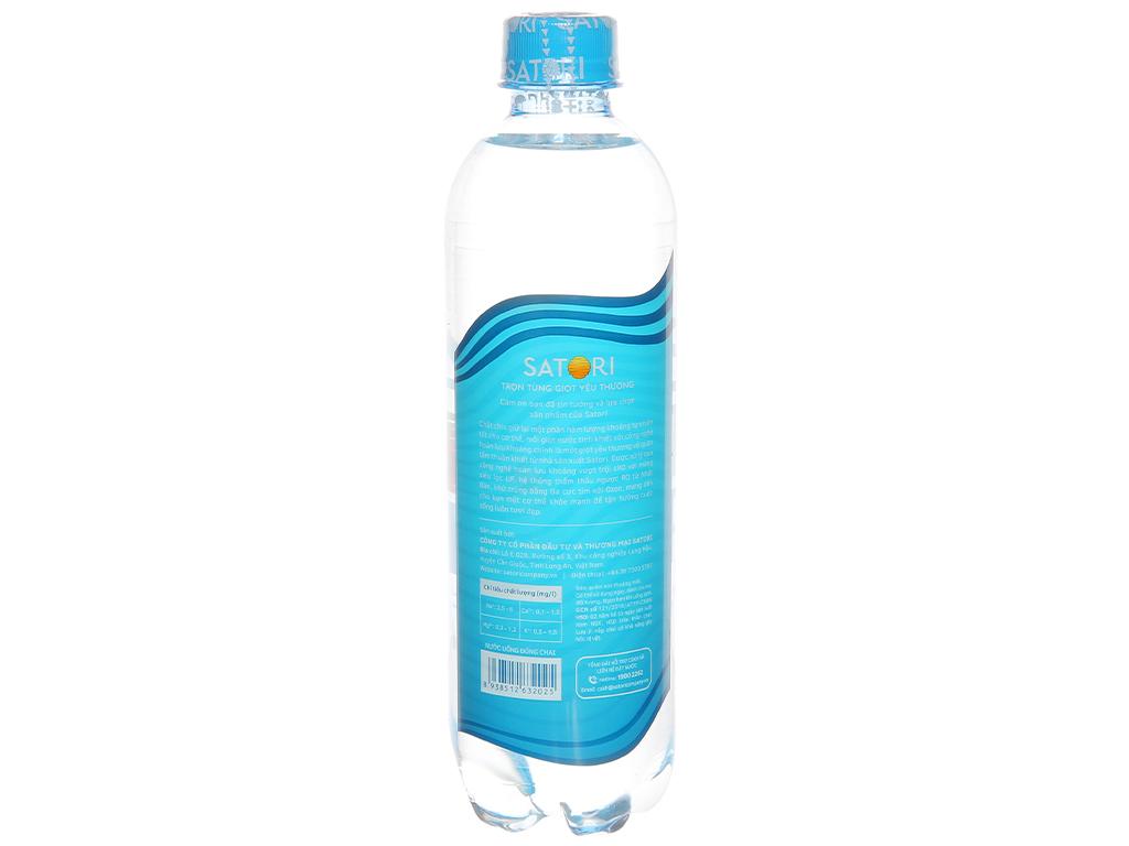 Thùng 12 chai nước tinh khiết Satori 1.5 lít 2