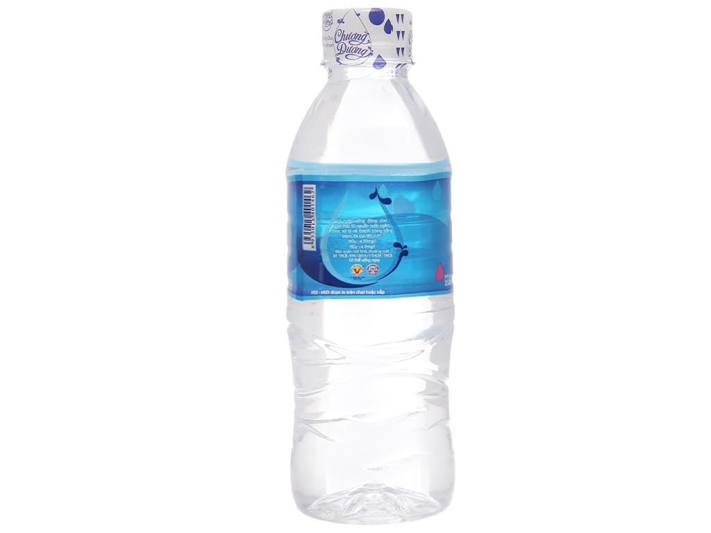 Thùng 24 chai nước uống Chương Dương 350ml 3