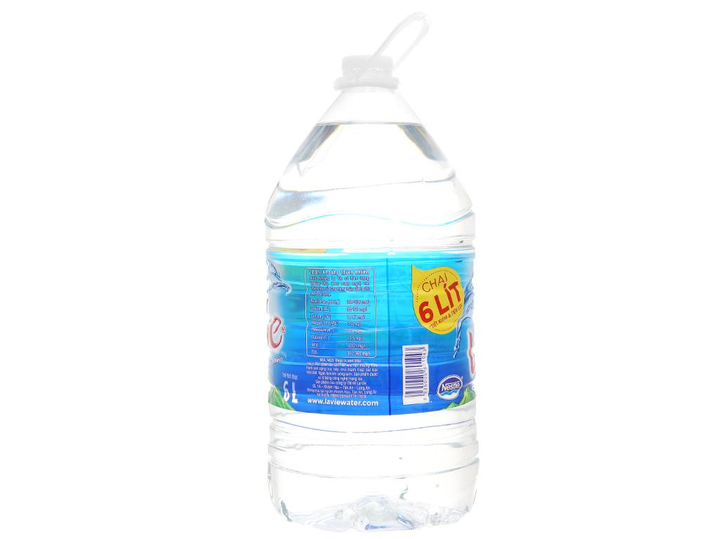 2 bình nước khoáng La Vie 6 lít 3