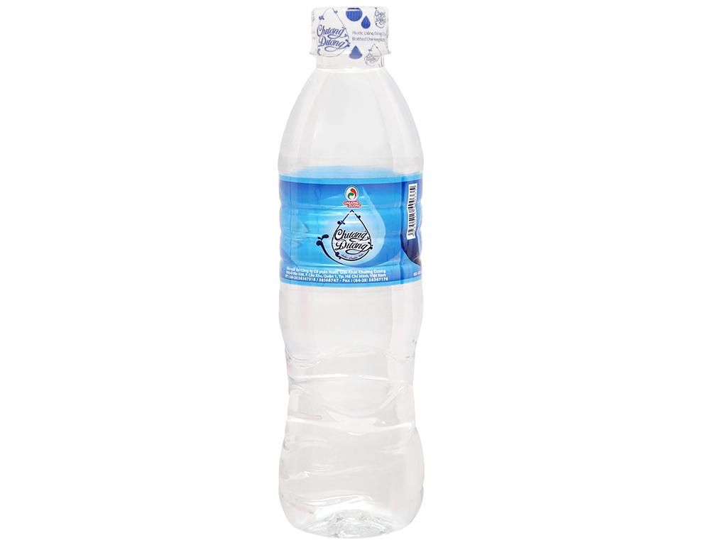 Thùng 24 chai nước uống Chương Dương 500ml 2