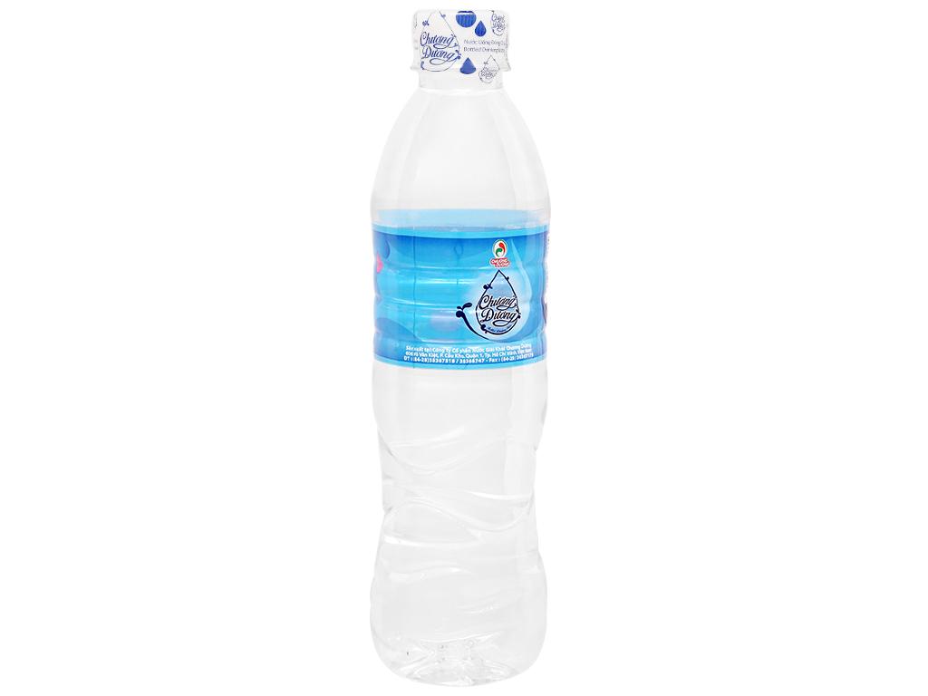 Thùng 24 chai nước uống Chương Dương 500ml 3