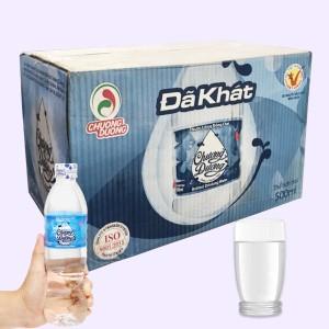 Thùng 24 chai nước uống Chương Dương 500ml