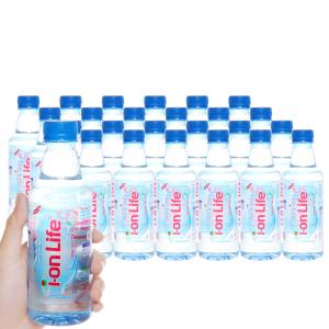 24 chai nước uống i-on kiềm Akaline I-on Life 330ml
