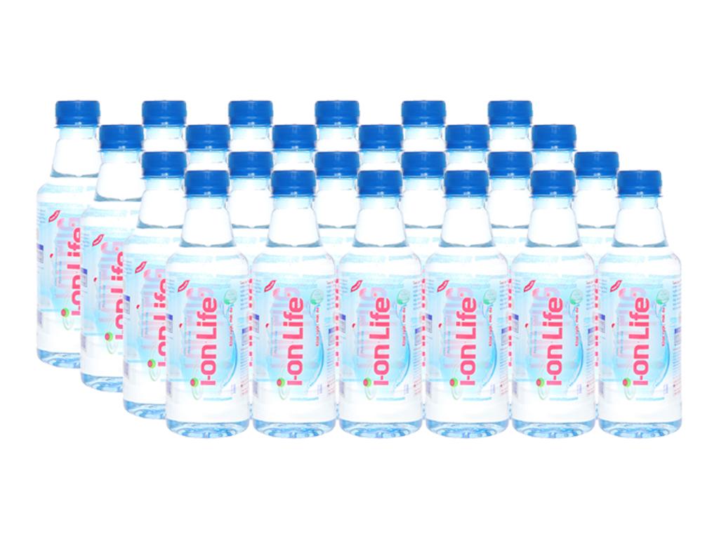 24 chai nước uống i-on kiềm Akaline I-on Life 330ml 1