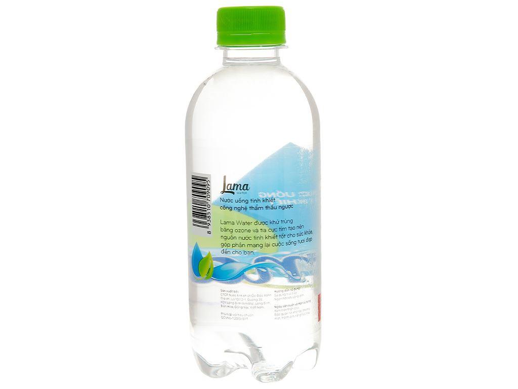 Thùng 24 chai nước tinh khiết Lama 350ml 4